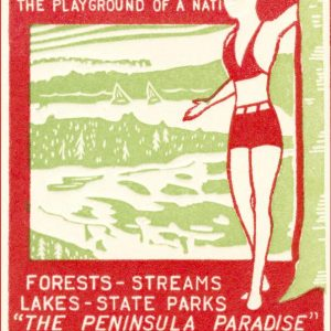 Michigan - The Playground of a Nation Magnet