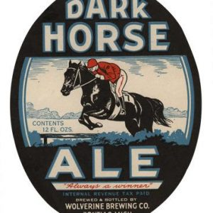 Dark Horse Ale Label Print