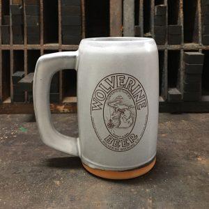 Wolverine Beer Stein