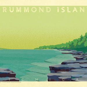 Drummond Island Print No. [079]